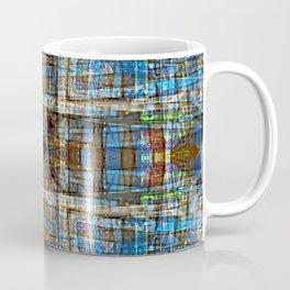 Plaid Construction Coffee Mug