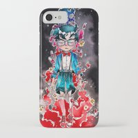 conan iPhone & iPod Cases featuring Little detective by Puckboum