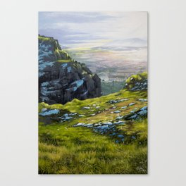 Arthur's Seat - Edinburgh Oil Painting Canvas Print