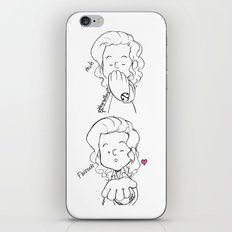 Blow A Kiss iPhone & iPod Skin