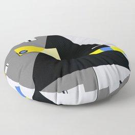 Geo Peace Floor Pillow