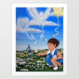 Yes You May Daisey Mae Art Print