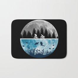 Close Encounters of the Moon Bath Mat