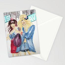 New York Dolls Stationery Cards