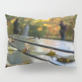 NYC Park Bench Pillow Sham
