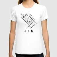 jfk T-shirts featuring JFK Airport Diagram by vidaloft