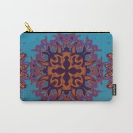 Floral Demon Carry-All Pouch