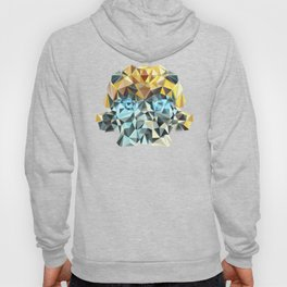 Bumblebee Low Poly Portrait Hoody