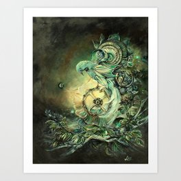 The Cost Of Contrivance Art Print