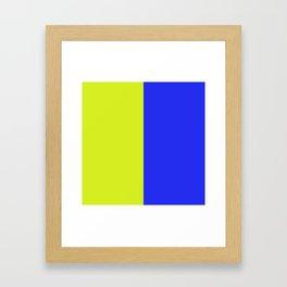 K is for KILO Framed Art Print