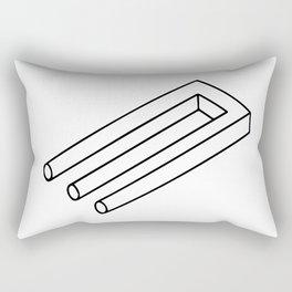 Optical Illusion #3 Rectangular Pillow