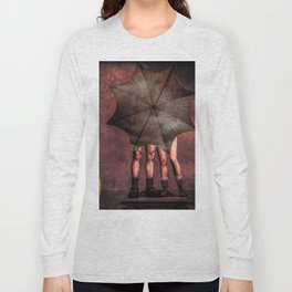 Slap and Tickle Behind The Umbrella Long Sleeve T-shirt