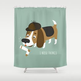 I Nose Things Shower Curtain