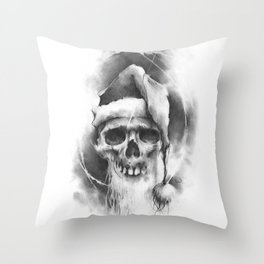 The Ded Moroz Throw Pillow