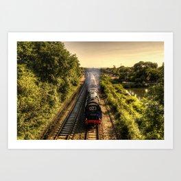 Britannia at Tiverton Parkway Art Print