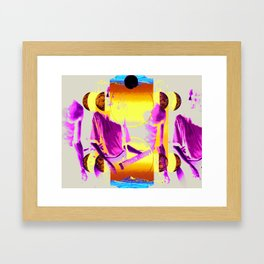 King's X Framed Art Print