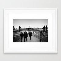 millenium falcon Framed Art Prints featuring Millenium by akarlsen