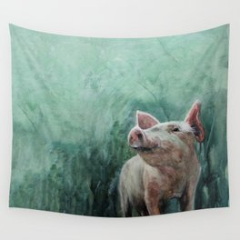 One Bad Pig Wall Tapestry