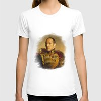 allyson johnson T-shirts featuring Dwayne (The Rock) Johnson - replaceface by replaceface