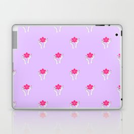 Holy orchid pattern Laptop & iPad Skin
