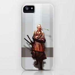 Samurai Ojiisama iPhone Case