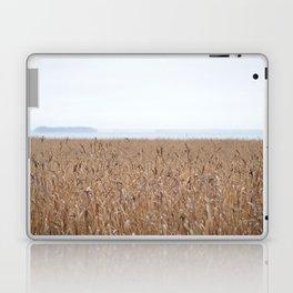Reeds On A Foggy Autumn's Day Laptop & iPad Skin