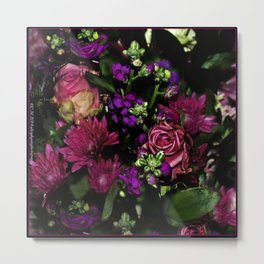 Sultry Bouquet Metal Print