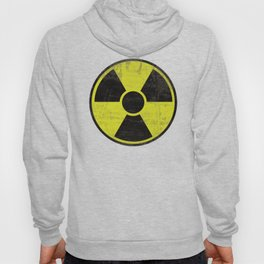 Grunge Radioactive Sign Hoody