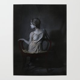 She, as a Ghostly Echo Poster