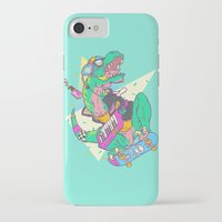 trex iPhone & iPod Cases featuring Ju-RAD-ssic Park by Fightstacy
