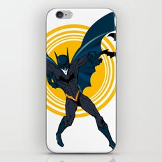 the Bat dude iPhone & iPod Skin