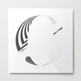 "Tao ""Letter O"" Metal Print"