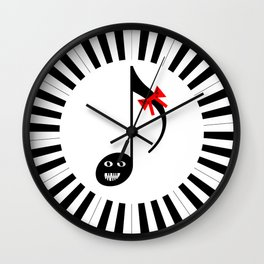 Music 72gon with Cute Eighth note Wall Clock
