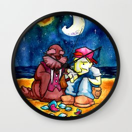 The Walrus and the Carpenter Wall Clock