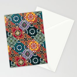 DESEO BOLD spanish tiles Stationery Cards