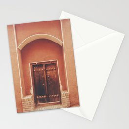Abyaneh Door #2 (from the series 'Iranian Doors') Stationery Cards
