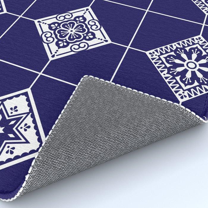 Talavera Mexican Tile – Porcelain Palette Rug