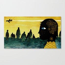 """Cape Town"" Illustration Tarmasz Canvas Print"