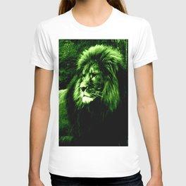Green LION T-shirt