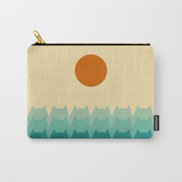 Sea Cats - Sunset Carry-All Pouch