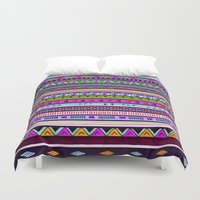 the dude Duvet Covers featuring Dude by Erin Jordan