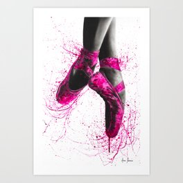 Pretty in Pink Art Print