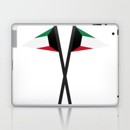 Kuwait flag Laptop & iPad Skin