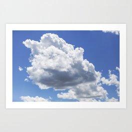 Cumulus Clouds 3 Art Print