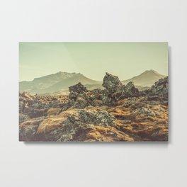 Lava Field VI Metal Print