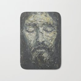 Holy Face of Our Lord Jesus Christ Bath Mat