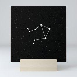 Libra Star Sign Night Sky Mini Art Print