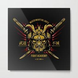 Martial Arts Metal Print