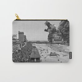 Old Time Godzilla in Atlantic City Carry-All Pouch