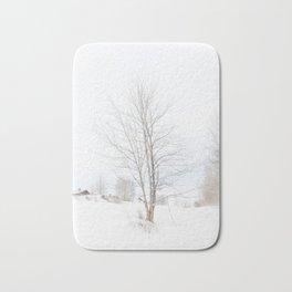 Tree // Winter Bath Mat